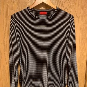 Men's Long Sleeve Stripped Sweater